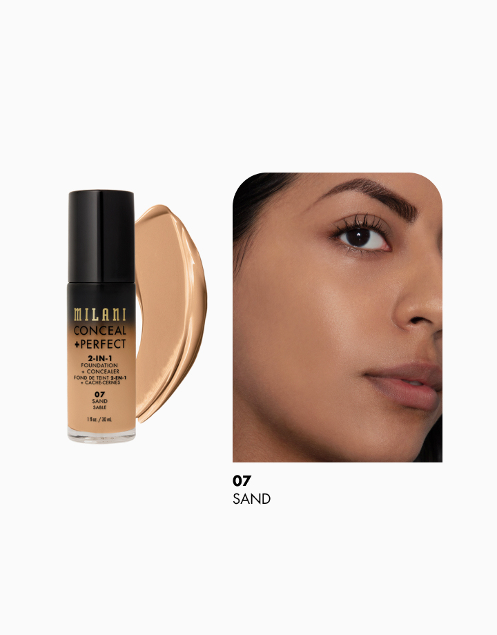 Conceal + Perfect 2-in-1 Foundation + Concealer by Milani | Sand