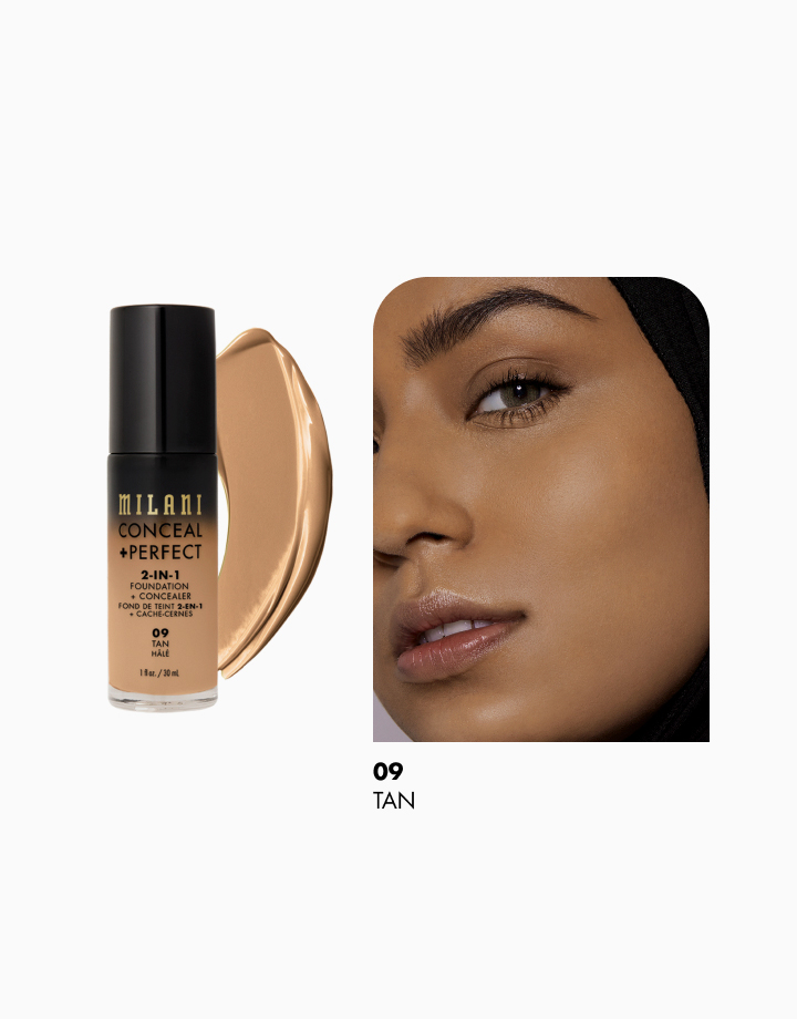Conceal + Perfect 2-in-1 Foundation + Concealer by Milani | Tan