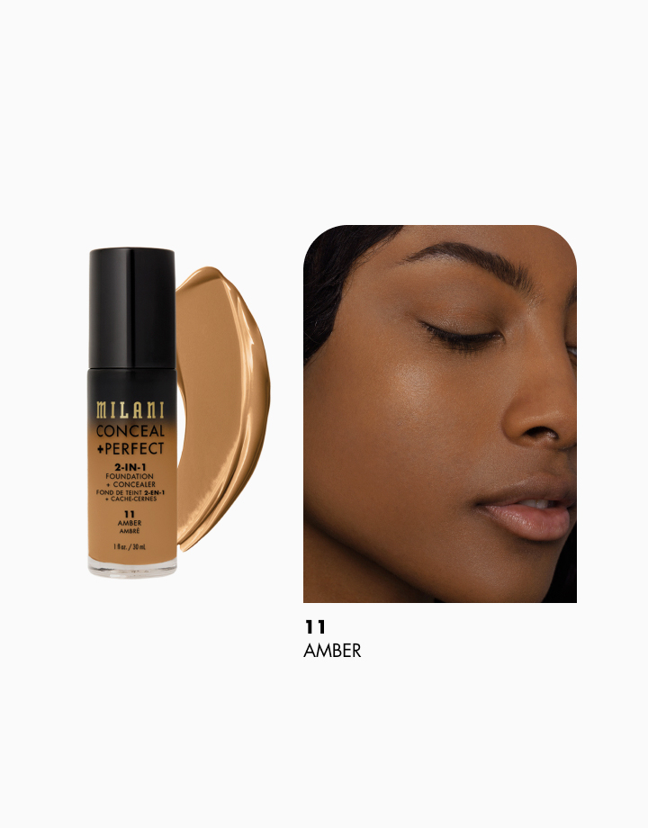 Conceal + Perfect 2-in-1 Foundation + Concealer by Milani | Amber