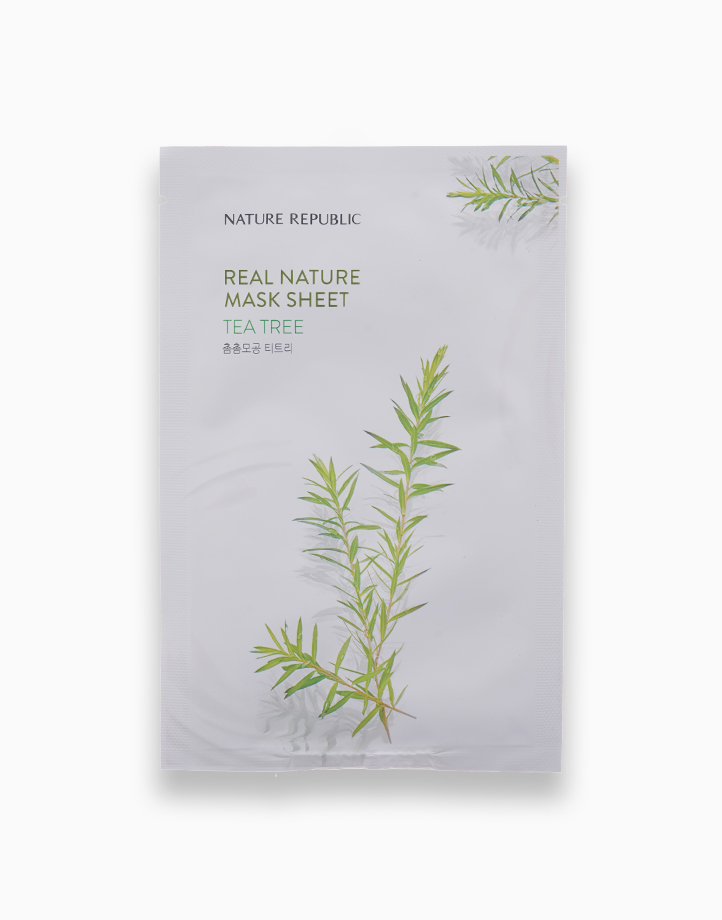 Real Nature Tea Tree Mask Sheet by Nature Republic