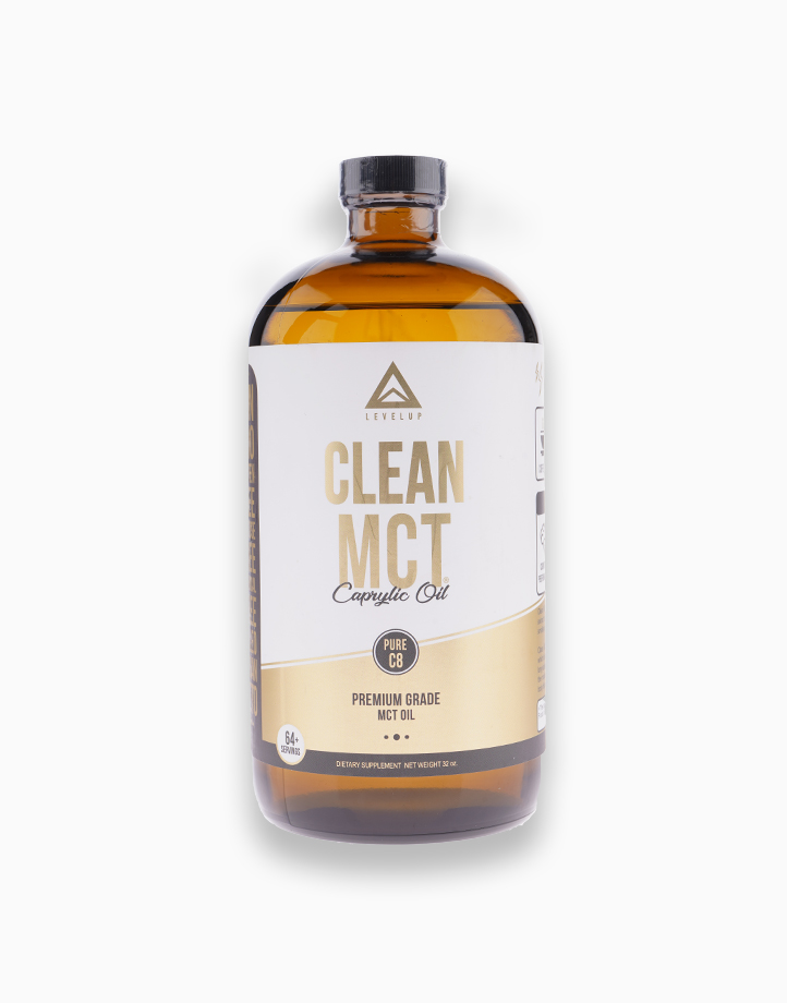 Clean MCT Oil (32oz) by LevelUp Nutra