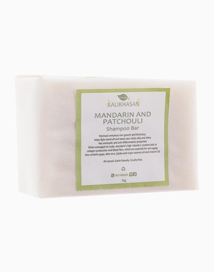 Mandarin and Patchouli Shampoo Bar (70g) by Kalikhasan Eco-Friendly Solutions