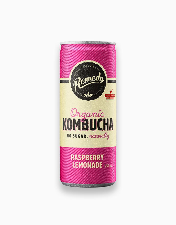 Organic Kombucha Raspberry Lemonade Flavor (250ml) by Remedy Kombucha