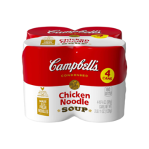 Chicken Noodle Soup (10.5oz) - Pack of 4 by Campbell