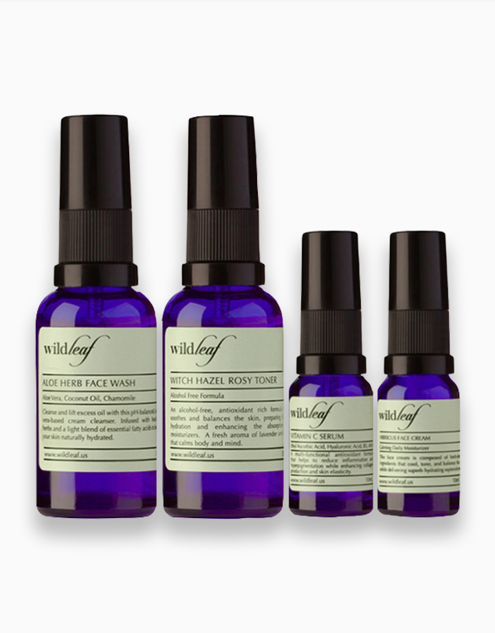 The Brightening Care Set (Trial Size) by Wildleaf