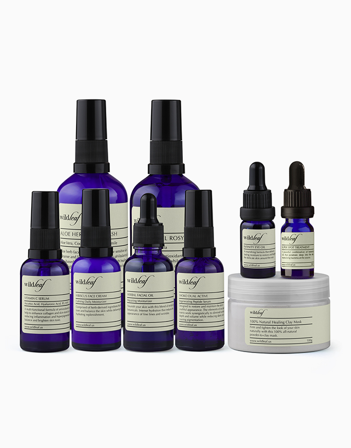 The Whole Face Care Set by Wildleaf