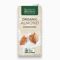 Australia's own organic almond unsweetened 1l