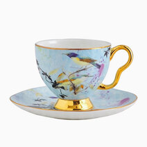 Chari Fine Bone Cup & Saucer by KIMI Home and Lifestyle