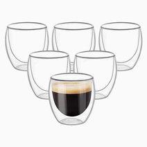 Cozzina double walled espresso shot glass %28set of 6%29