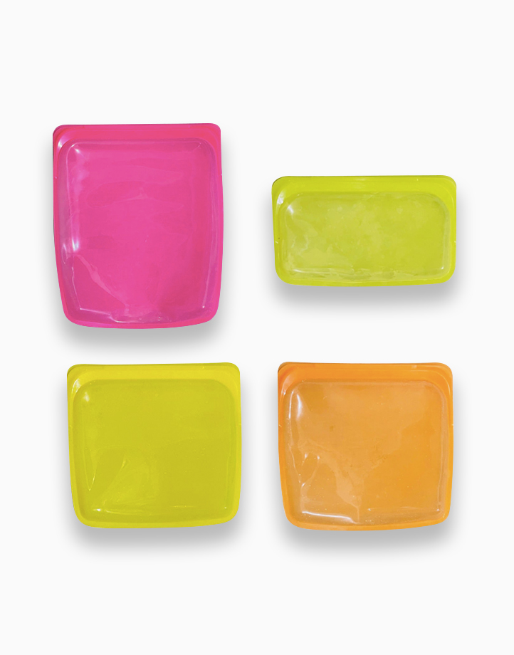 Reusable Silicone Storage Bags (Set of 4) by Cozzina
