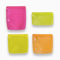 Cozzina reusable silicone storage bags %28set of 4%29