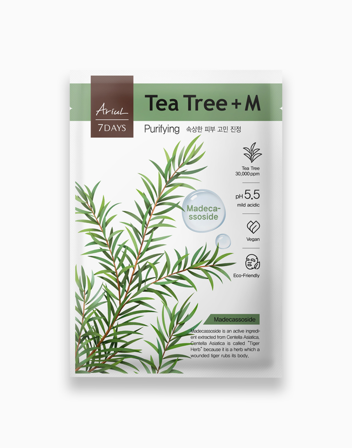 7days Mask Tea Tree + M by Ariul