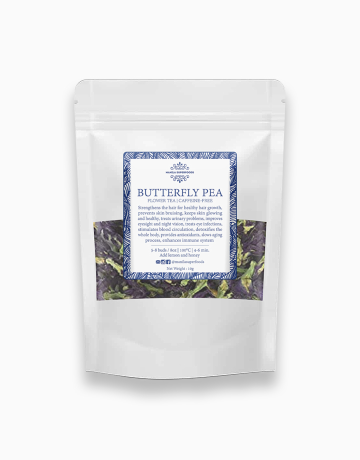 Butterfly Pea Flower Tea (10g) by Manila Superfoods