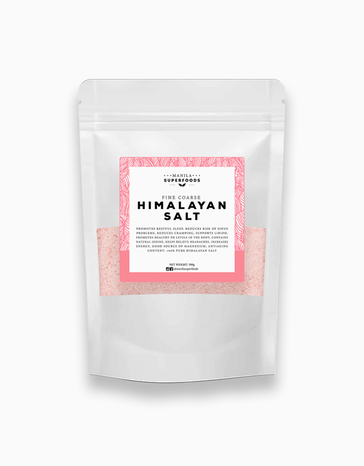 Himalayan Salt Fine Grain (500g) by Manila Superfoods