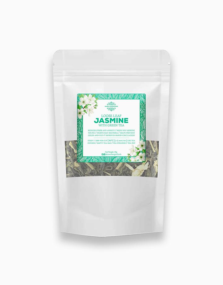 Loose Leaf Jasmine Tea (40g) by Manila Superfoods