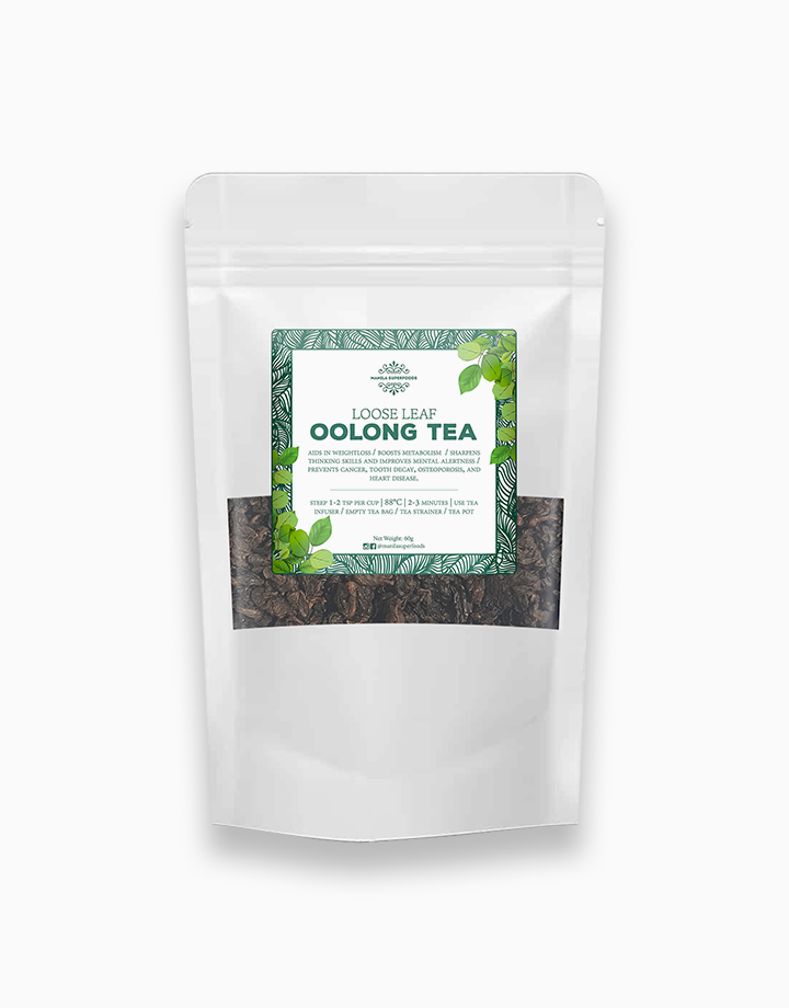 Loose Leaf Oolong Tea (60g) by Manila Superfoods