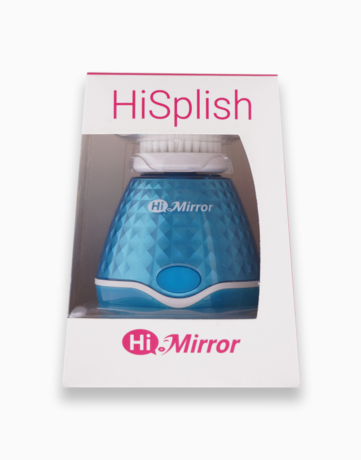 HiSplish Facial Cleansing Brush with Massage Head by HiMirror
