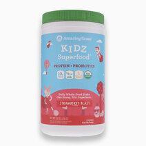 KIDZ Superfood Protein + Probiotics Strawberry Blast (255g) by Amazing Grass