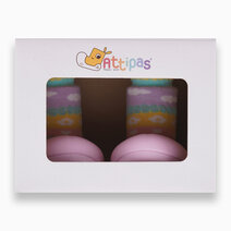 Attibebe Design (Pink) by Attipas Baby Shoe Socks