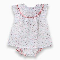 Re sleeveless dress with bottom set 1