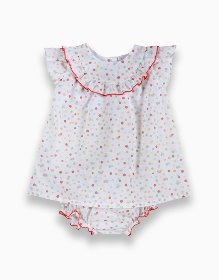 Sleeveless Dress with Bottom Set by Chicco | 12 MONTHS