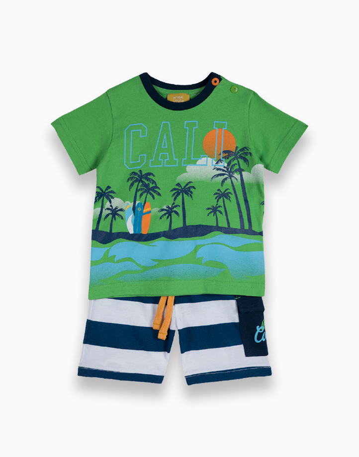 Tees And Shorts Set by Chicco   12 MONTHS