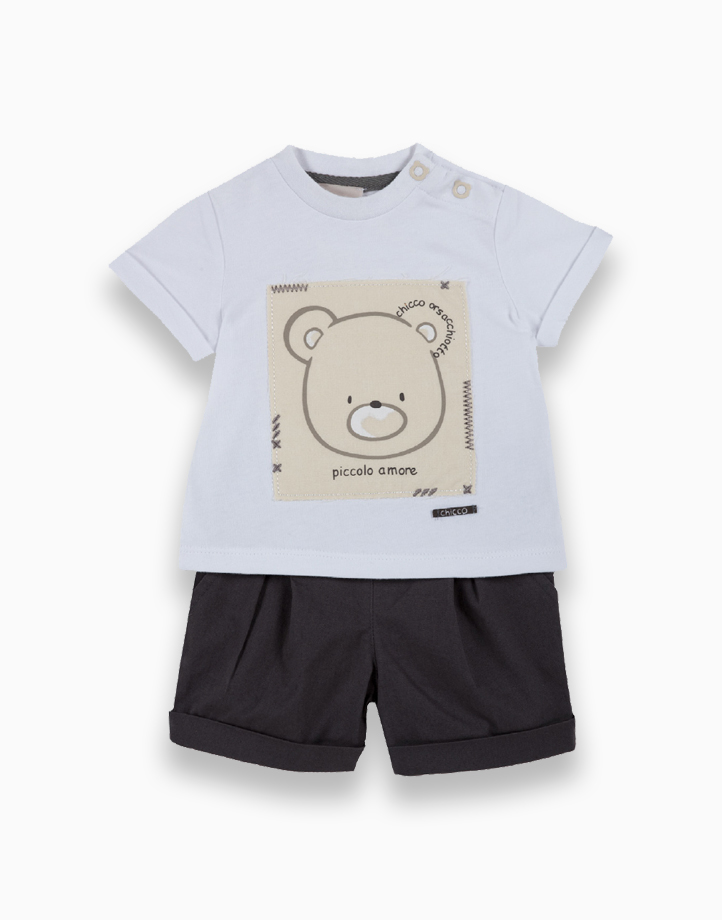 Tees + Shorts Set by Chicco   9 MONTHS