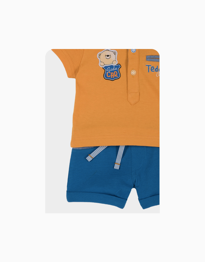Polo + Short Pants Jersey Piquet Set by Chicco  