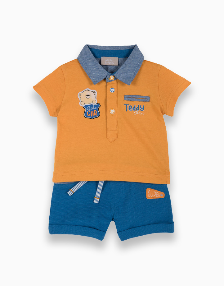 Polo + Short Pants Jersey Piquet Set by Chicco   2Y