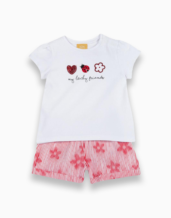 T-shirt and Shorts Set by Chicco | 12 MONTHS