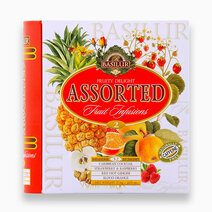 Tea Book Asstd. Fruity Delight Vol. II (32 En) (Caffeine-Free) by Basilur