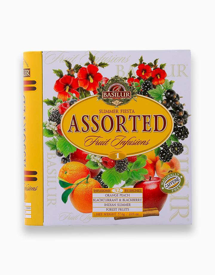 Summer Fiesta Assorted Fruit Infusions Vol. I (32En) (Caffeine-Free) by Basilur