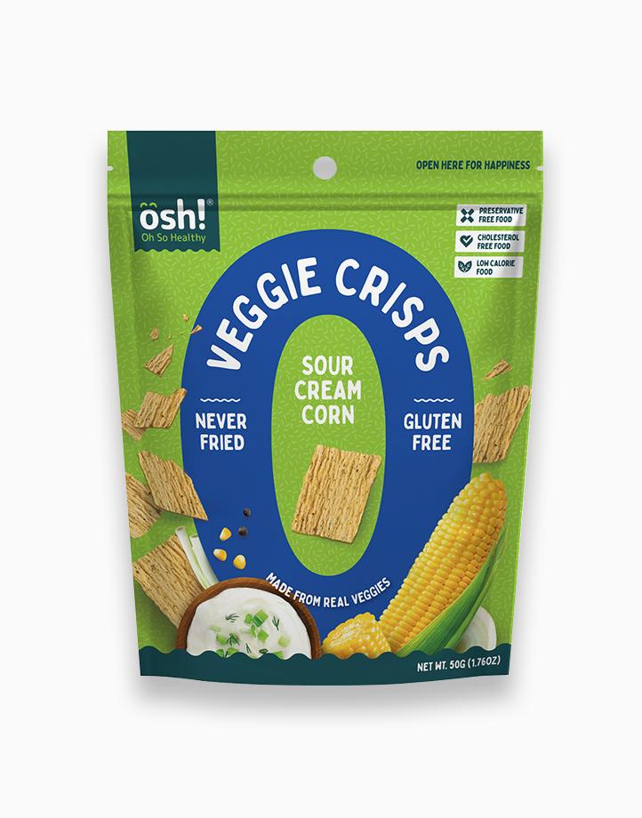 Sour Cream Corn Veggie Crisps (50g) by Oh So Healthy!