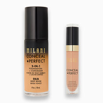 Conceal + Perfect Foundation + Concealer Duo by Milani