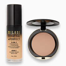 Conceal + Perfect Foundation + Powder Duo by Milani