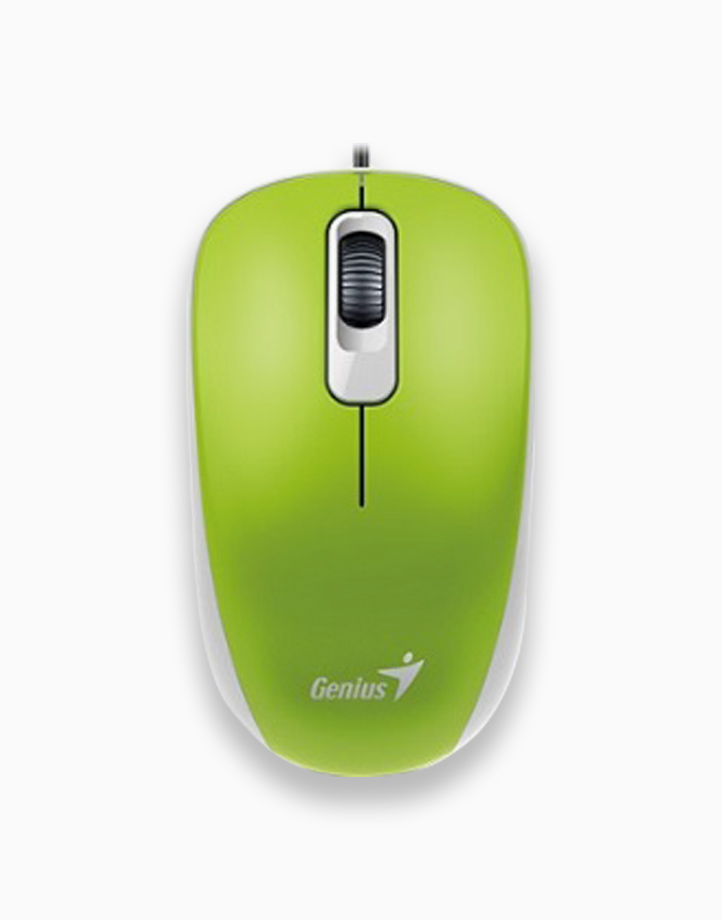 DX-110 Wired Mouse by Genius | Spring Green