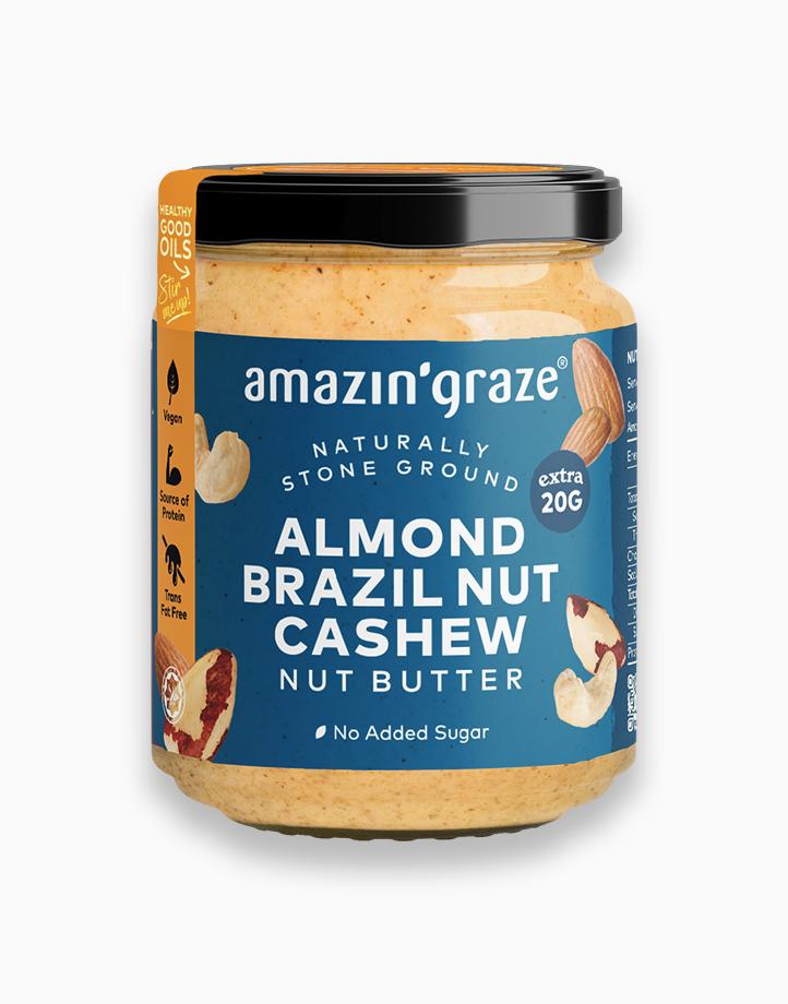 ABC Butter (Almonds, Brazil Nuts, Cashews) by Amazin' Graze