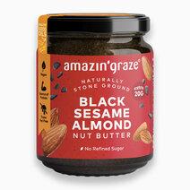 Black sesame almond butter 1