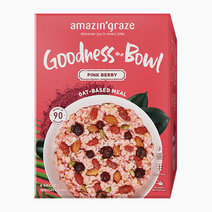 Goodness in a bowl pink berry oat based meal 1