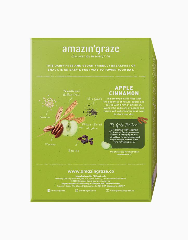 Goodness in a Bowl Apple Cinnamon Oat-based Meal by Amazin' Graze