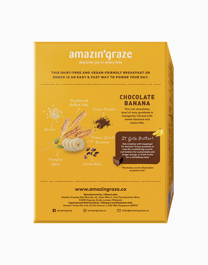 Goodness in a Bowl Chocolate Banana Oat-Based Meal by Amazin' Graze