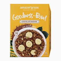 Goodness in a bowl chocolate banana oat based meal 1