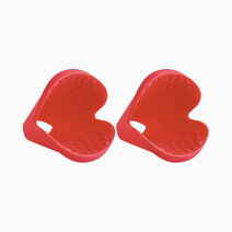 3-in-1 Pinch Grip (Set of 2 - Red) by Trudeau