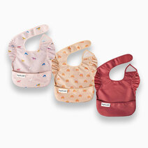 Premium Mess-proof Easy Bib 3-Pack by Tiny Twinkle