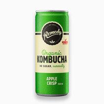 Organic Kombucha Apple Crisp 250ml by Remedy Kombucha