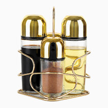Premium Gold Condiment (Set of 4) by Sunbeams Lifestyle