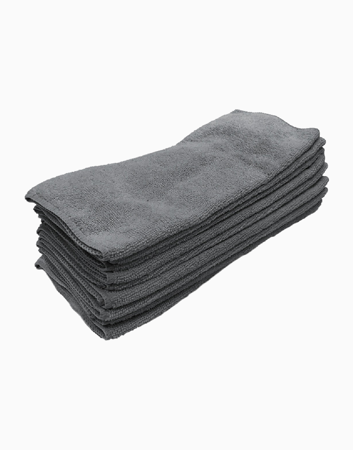 Premium Microfiber Cleaning Cloth (Set of 10) by Sunbeams Lifestyle
