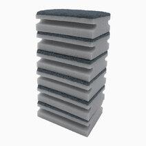 Premium 2-in-1 Cleaning Sponge (Set of 6) by Sunbeams Lifestyle