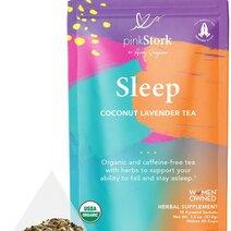 Sleep Tea: Coconut-Lavender Tea (30 cups) by Pink Stork
