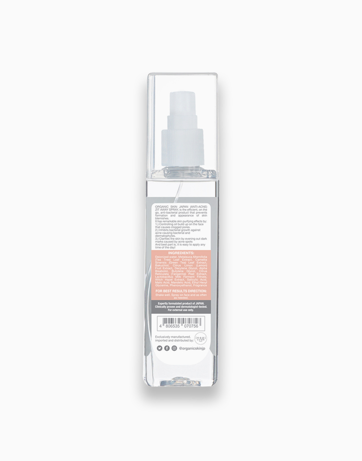 AntiAcne Zit Away Spray Face Mist with Tea Tree (100ml) by Organic Skin Japan